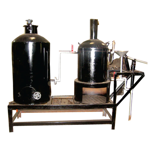 40 kg Cashew Cooker with Steamer