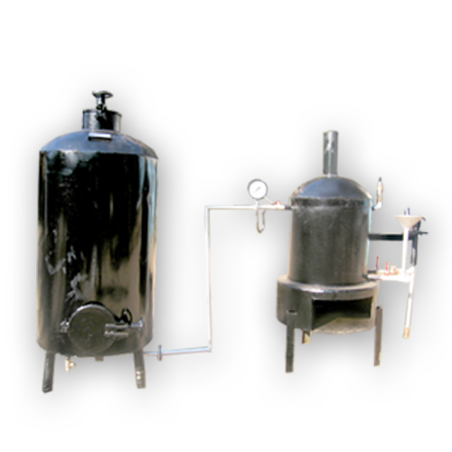 80 kg Cashew Cooker with Steamer